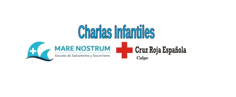 Charlas infantiles con Cruz Roja